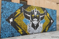 Street art in the Al Fahidi Historic District