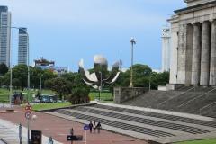 Floralis Genérica and Plaza de las Naciones Unidas, Buenos Aires