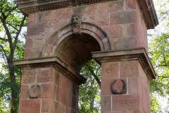 Triumphal Arch at the Old Burying Ground entrance, Halifax
