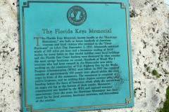 Hurricane monument, Florida Keys