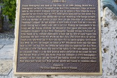 Ernest Hemingway, Key West Historic Memorial Sculpture Garden