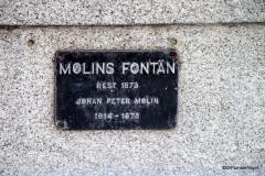 Molin's Fountain, Kungsträdgården, Stockholm