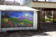 Lafayette, Colorado (garage art)