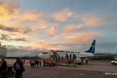 Arriving at Whitehorse, 11:45 pm.  Still lots of daylight