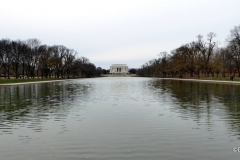 Reflecting Pool, looking to Lincoln Memorial