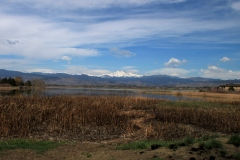 Long's Peak viewed from Lake McIntosh