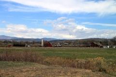 Farmland around Lake McIntosh