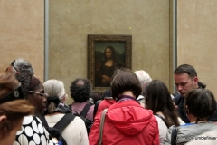 The Mona Lisa, Louvre, Paris