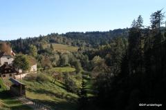 View from Predjama Castle, Slovenia