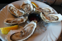 Oysters, Ray's Restaurant, Seward