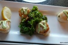Scallops, Ray's Restaurant, Seward