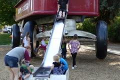 World's Largest Red Flyer Wagon, Spokan