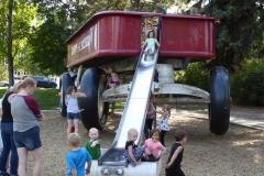 World's Largest Red Flyer Wagon, Spokane