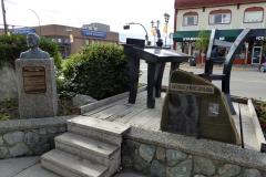 Robert W Service Memorial, Whitehorse