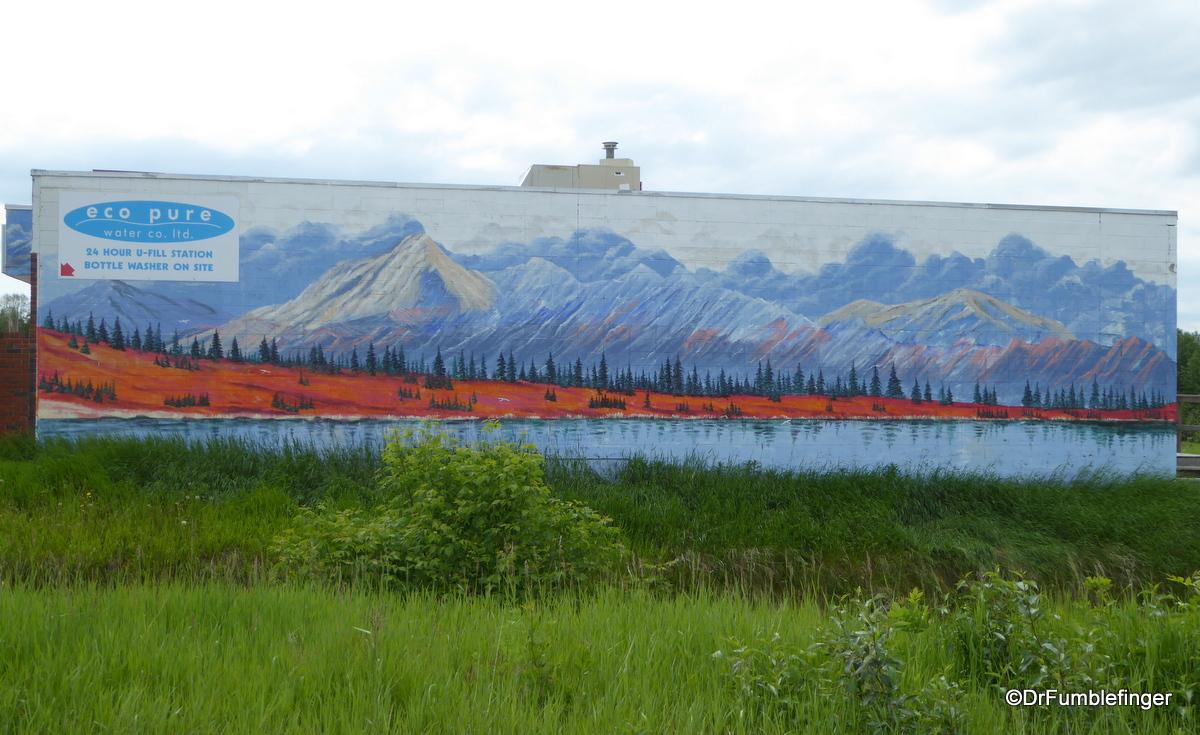 Street art, Rural Alberta