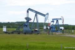 Oil pumps, Rural Alberta