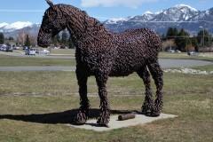 """Rusty"", Museum of the Rockies, Bozeman"