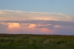 Prairie sunset, Saskatchewan