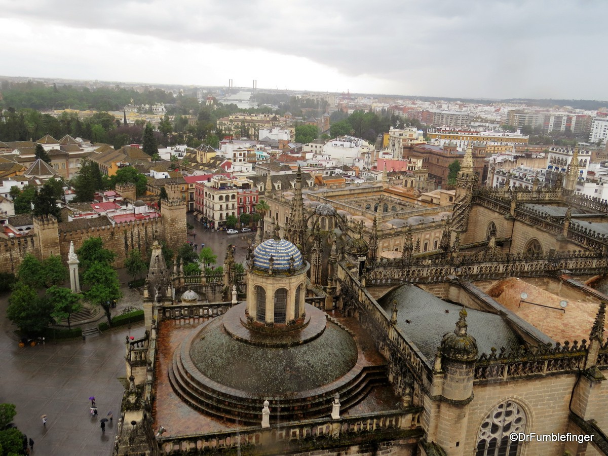 Views of Seville from the Cathedral's Giralda