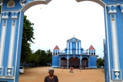 Easter week at St. Mary's Cathedral, Batticaloa