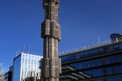 Sergels Torg — Obelisk and Fountain