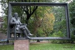 The Statue of Jan Matejko, Krakow