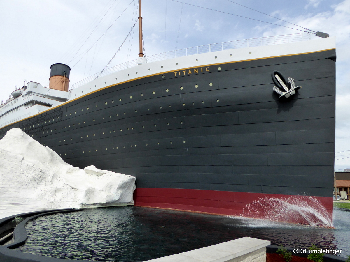 Pic Of The Week July 17 2020 Titanic Museum Branson Missouri Drfumblefinger S Adventures Of A Lifetime