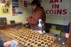 Ushuaia Coin Man