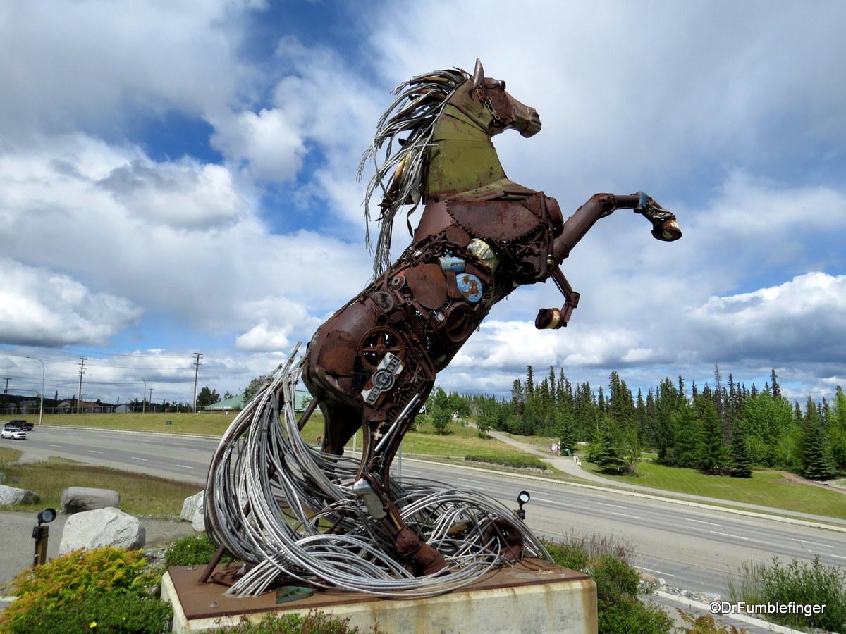 Whitehorse Horse
