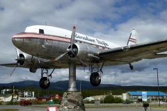 Airplane Weathervane, Yukon Transporation Museum, Whitehorse