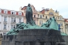 Statue of Jan Hus in Old Town Square
