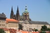 Prague Castle from Petrin Tower