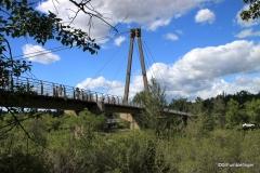 Bridge to Prince's Island Park, Calgary