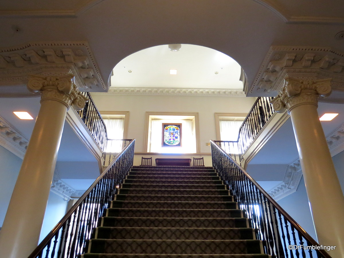 Stairs, Province House, Halifax