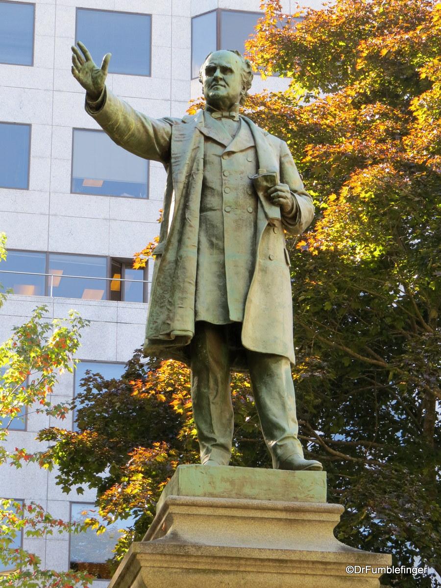 Statue of Joseph Howe, Province House, Halifax