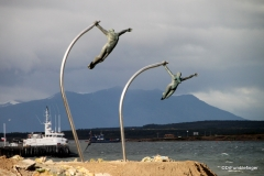 """Love of the Wind', a homage to the wind, Puerto Natales)"