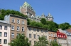 Quebec -- Basseville view of Chateau Frontenac