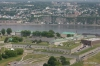Quebec -- view of city & St. Lawrence River