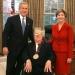 Ray Bradbury with President & Mrs. Bush