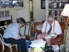 Ray Bradbury signing DrFumblefinger's books