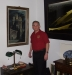 Wayne Houser in Ray's living room