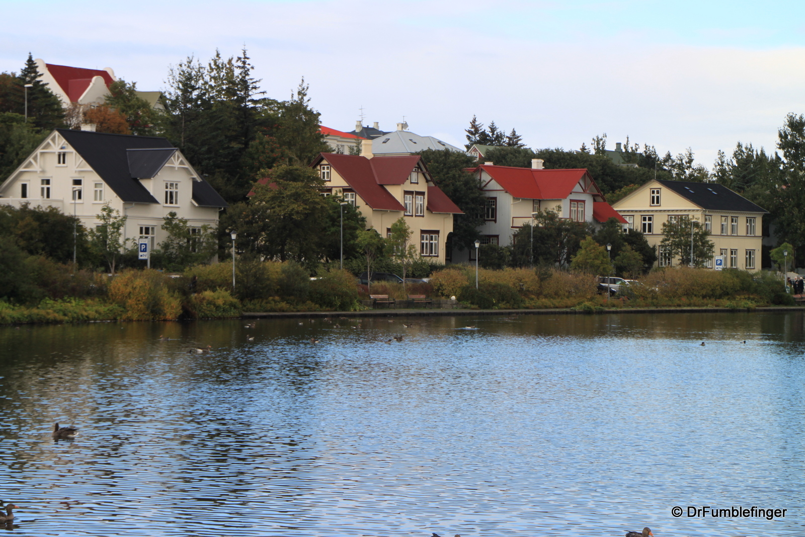 """Homes along """"The Pond"""""""