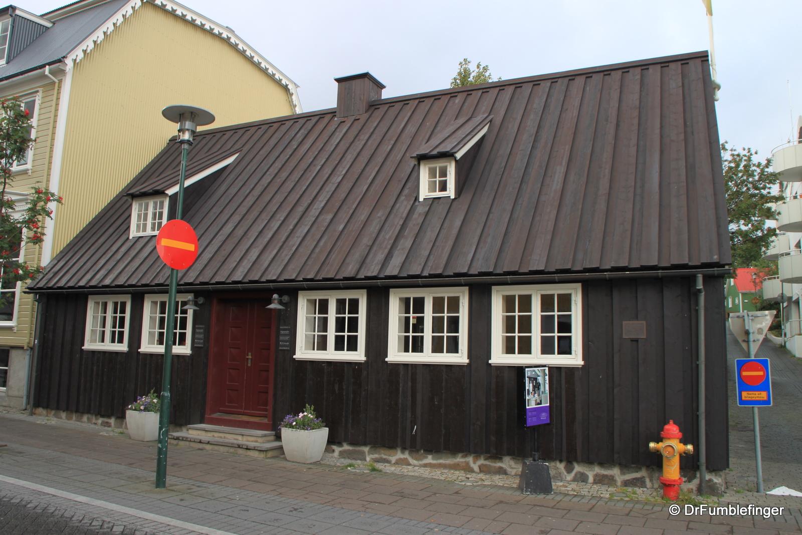 Oldest building in Reykjavik