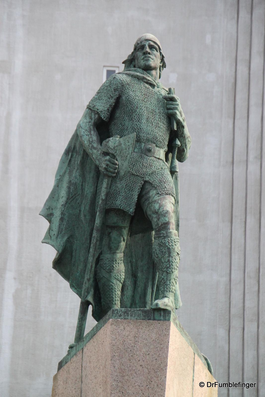 Leif Eiriksson statue