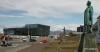 Reykjavik, view up Laekjargate