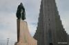 Leif Erikson statue & Hallgrimskirkje