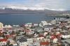 Reykjavik, views from Hallgrimskirkje