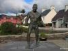 Steve Crusher, World Champ statue, Sneem
