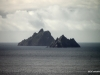 Closer view of the Skellig islands