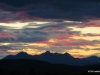 Sunset over the Canadian Rocky Mountains
